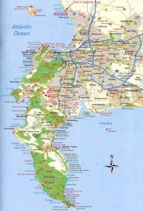 Capetown map