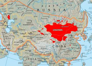 Mongols-map